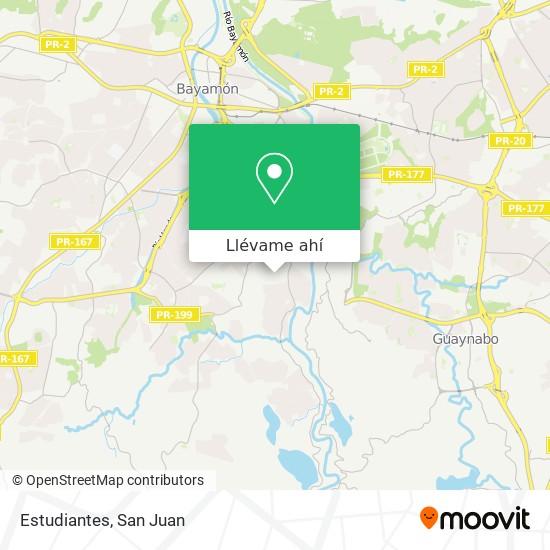 Mapa de Estudiantes