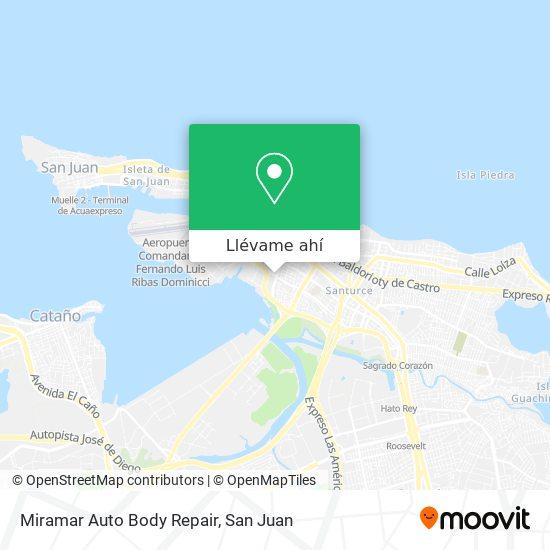Mapa de Miramar Auto Body Repair