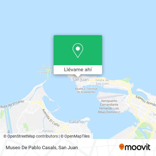 Mapa de Museo De Pablo Casals