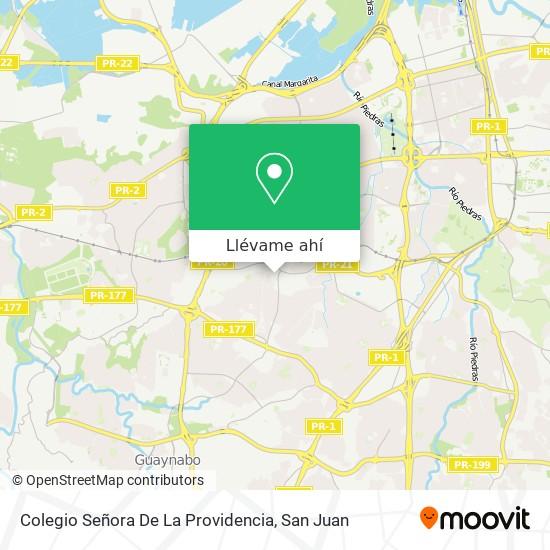 Mapa de Colegio Señora De La Providencia
