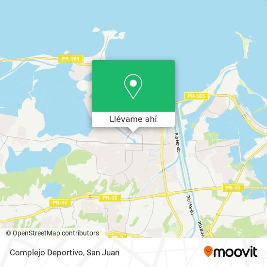 Mapa de Complejo Deportivo
