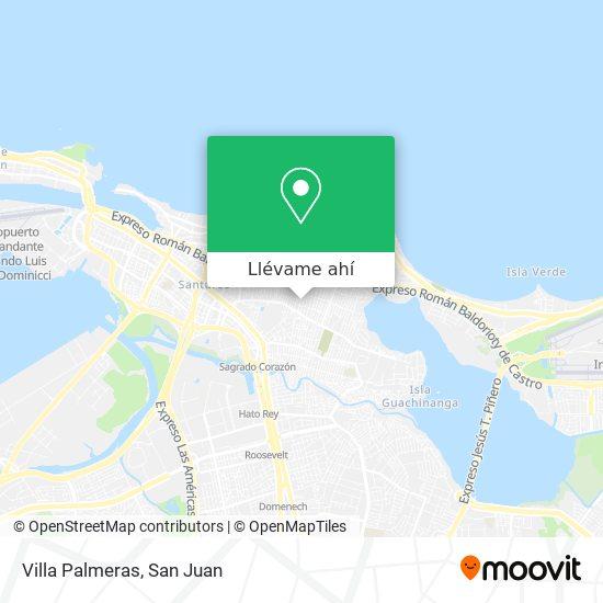 Mapa de Villa Palmeras
