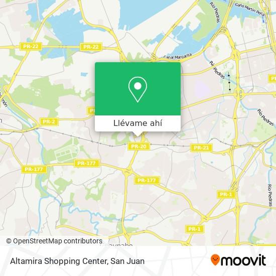 Mapa de Altamira Shopping Center