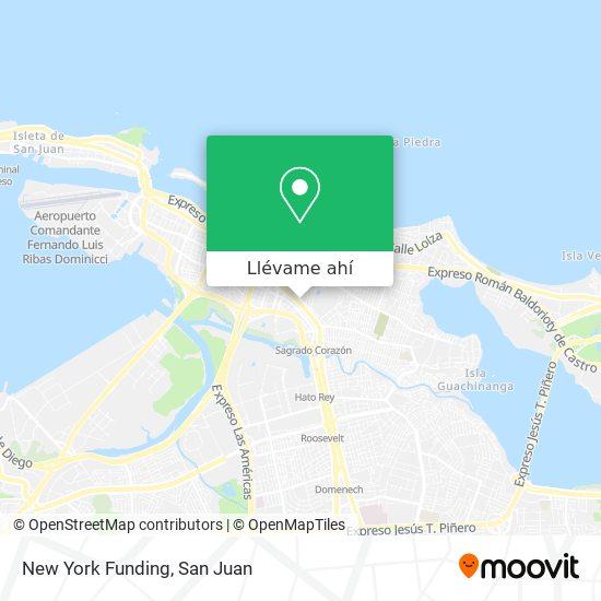 Mapa de New York Foundling