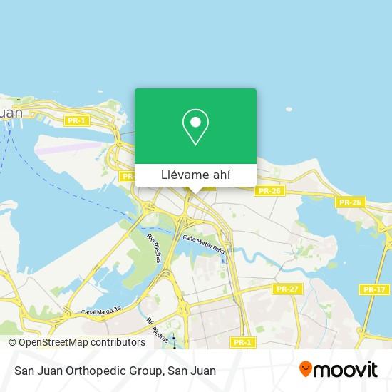 Mapa de San Juan Orthopedic Group