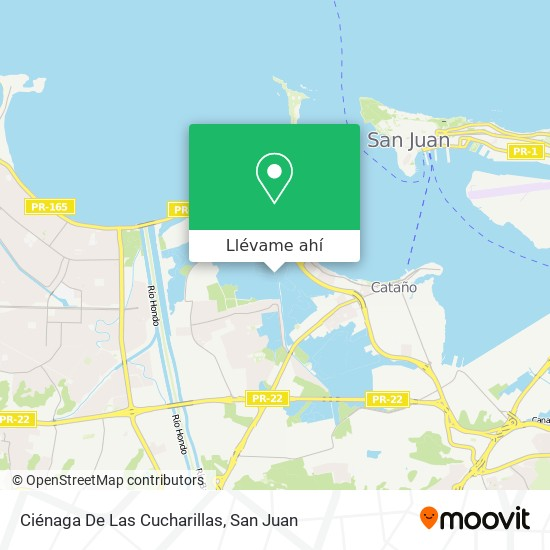 Mapa de Ciénaga De Las Cucharillas