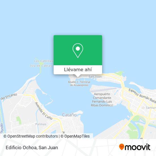 Mapa de Edificio Ochoa