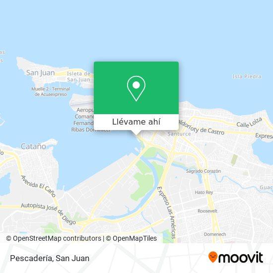 Mapa de Pescadería