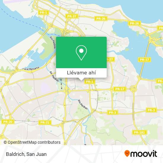 Mapa de Baldrich