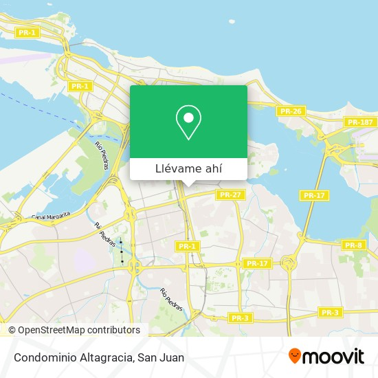 Mapa de Condominio Altagracia