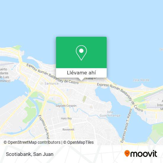 Mapa de Scotiabank