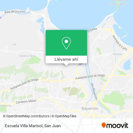 Mapa de Escuela Villa Marisol