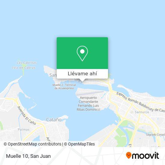 Mapa de Muelle 10