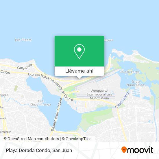 Mapa de Playa Dorada Condo
