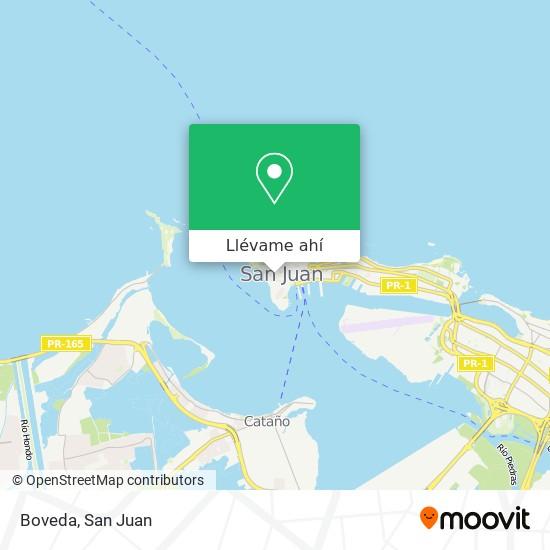 Mapa de Boveda
