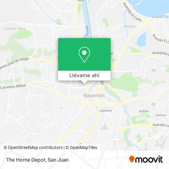 Mapa de The Home Depot