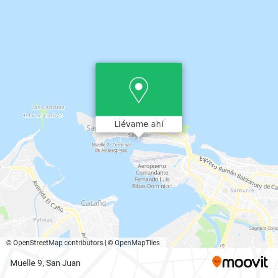 Mapa de Muelle 9