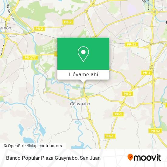 Mapa de Banco Popular Plaza Guaynabo