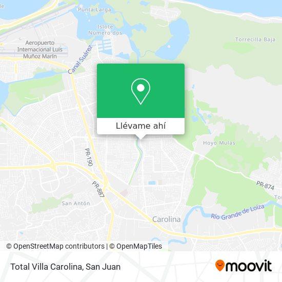 Mapa de Total Villa Carolina