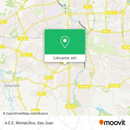 Mapa de Aee Monacillo
