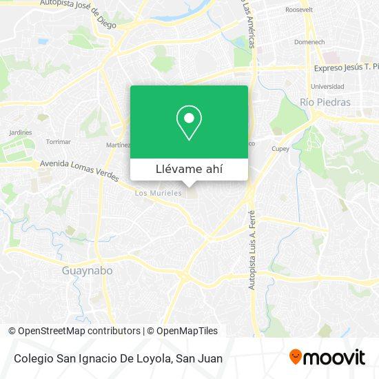 Mapa de Colegio San Ignacio De Loyola