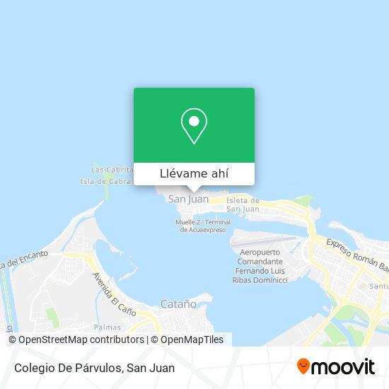 Mapa de Colegio De Párvulos