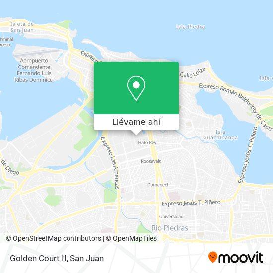 Mapa de Golden Court II