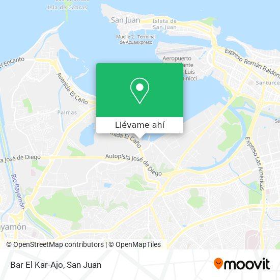 Mapa de Bar El Kar-Ajo