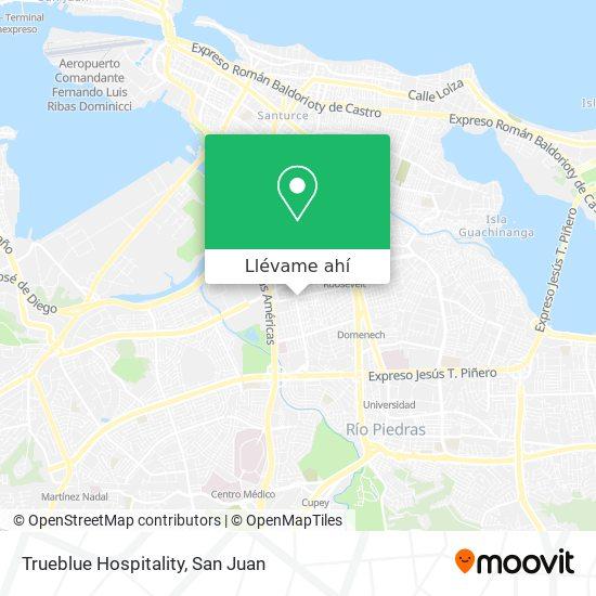 Mapa de Trueblue Hospitality