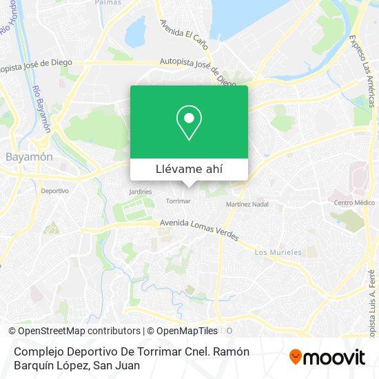 Mapa de Complejo Deportivo - Parque De Torrimar
