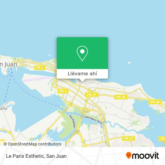 Mapa de Le Paris Esthetic