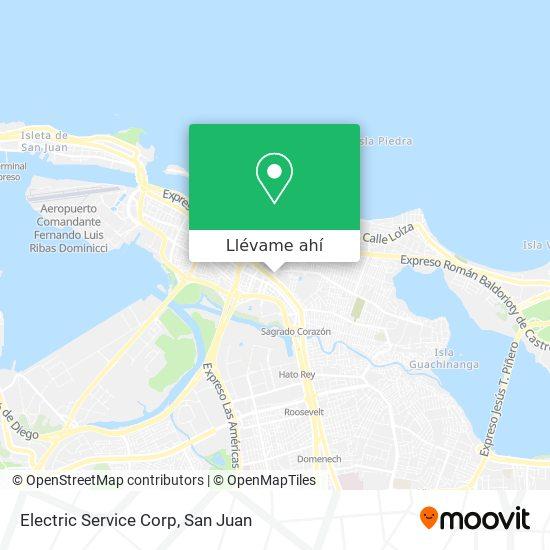 Mapa de Electric Service Corp