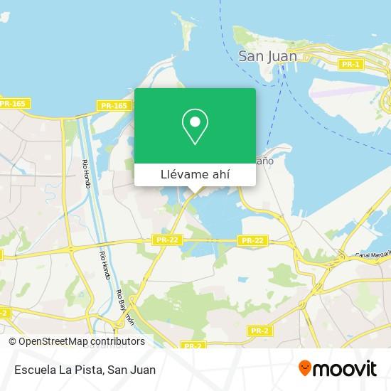 Mapa de Escuela La Pista