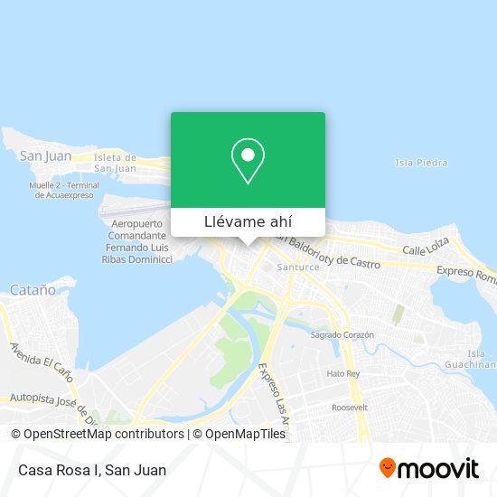 Mapa de Casa Rosa I
