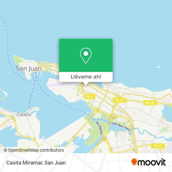 Mapa de Casita Miramar