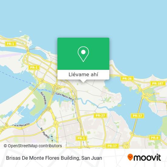 Mapa de Brisas De Monte Flores Building