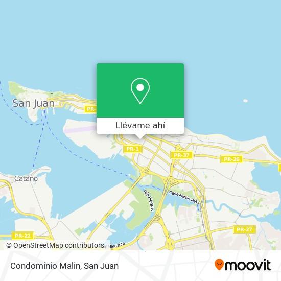 Mapa de Condominio Malin
