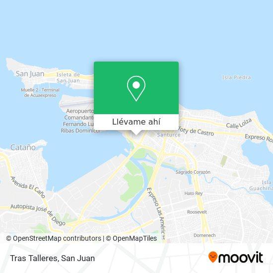 Mapa de Tras Talleres