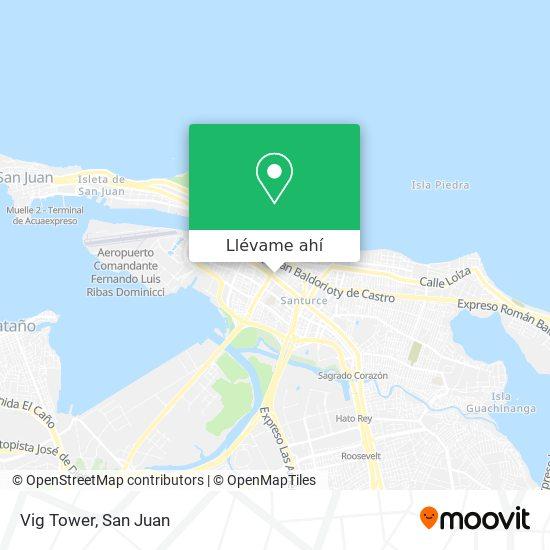 Mapa de Vig Tower