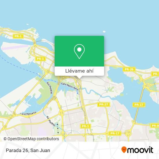 Mapa de Parada 26