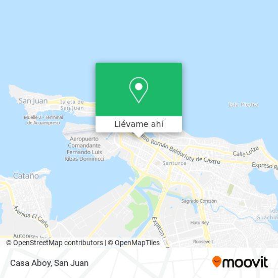 Mapa de Casa Aboy
