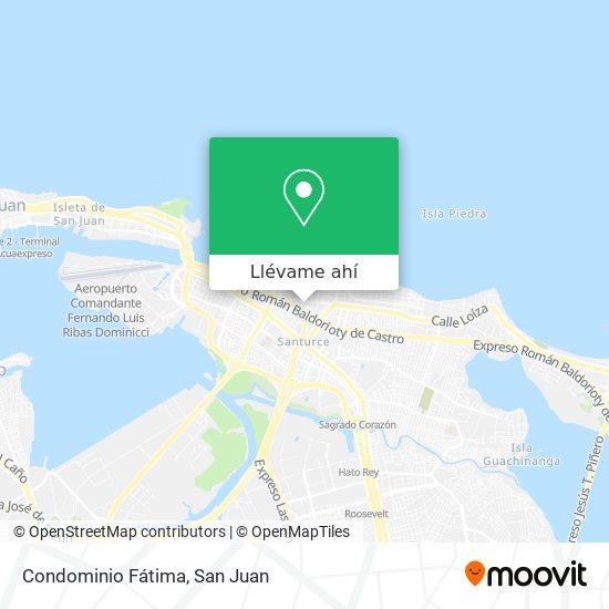 Mapa de Condominio Fátima