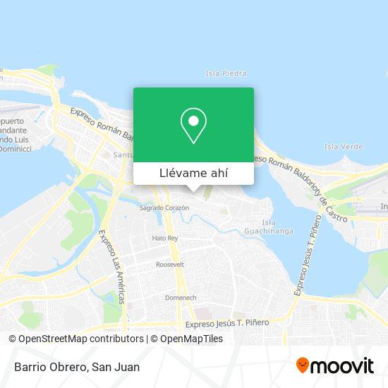 Mapa de Barrio Obrero
