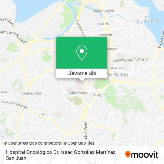 Mapa de Hospital Oncológico
