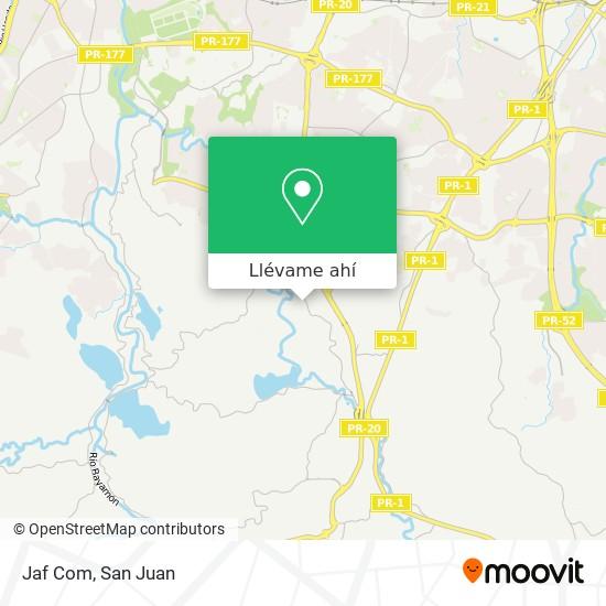 Mapa de Jaf Com