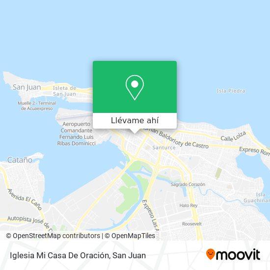 Mapa de Iglesia Mi Casa De Oración