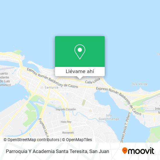 Mapa de Academia Santa Teresita