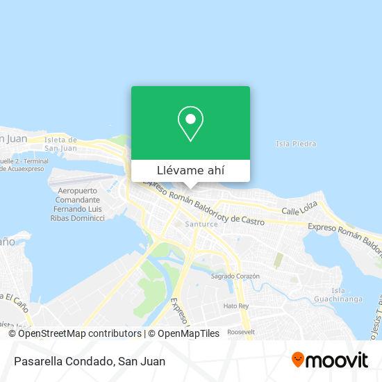 Mapa de Pasarella Condado