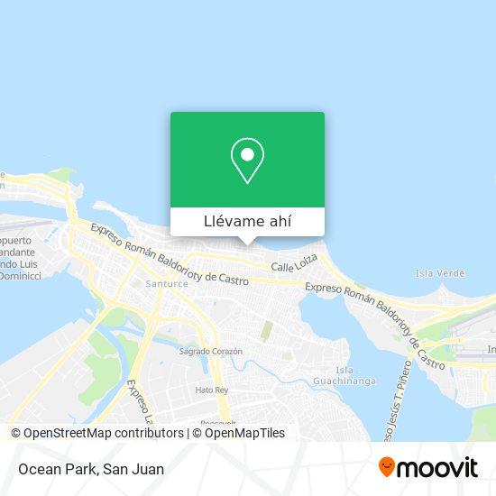 Mapa de Ocean Park