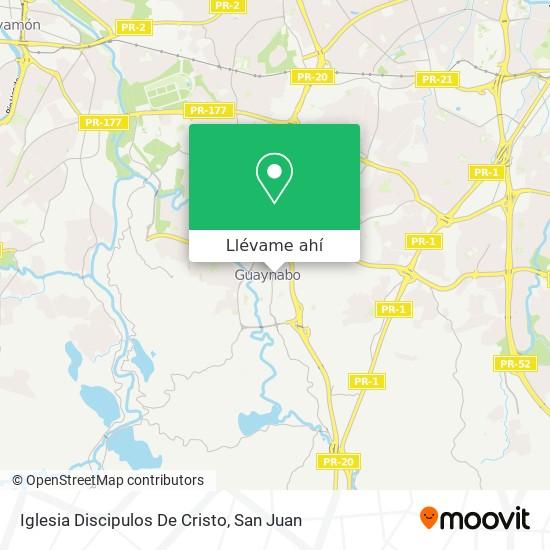 Mapa de Iglesia Discipulos De Cristo